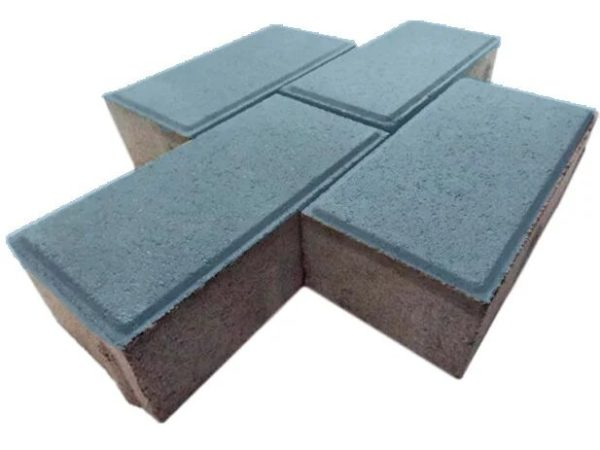 Тротуарная плитка «Кирпичик» 40 мм