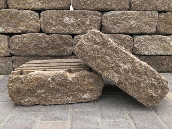 Бетонные блоки «Прямой скол»