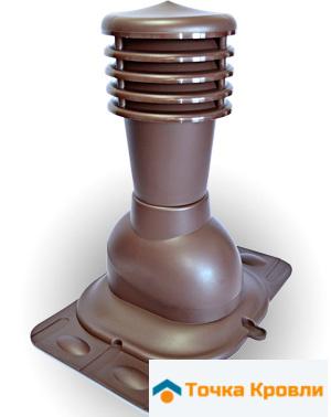Вентиляционный выход универсальный KU 125 мм утепленный
