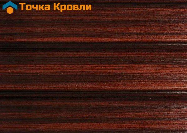 Карнизная подшивка Софит ASKO Красное дерево Тик