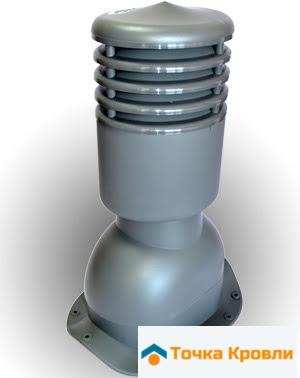Вентиляционный выход KBN для металлочерепицы низкий профиль утепленный